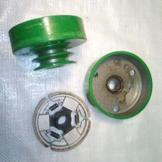 Сухое сцепление двухручьевое, профиль «А» Ф20мм