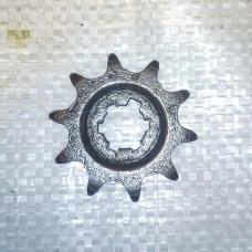 Звезда Z10 Ф20 6 шлицев, шаг цепи 520(ИЖ)